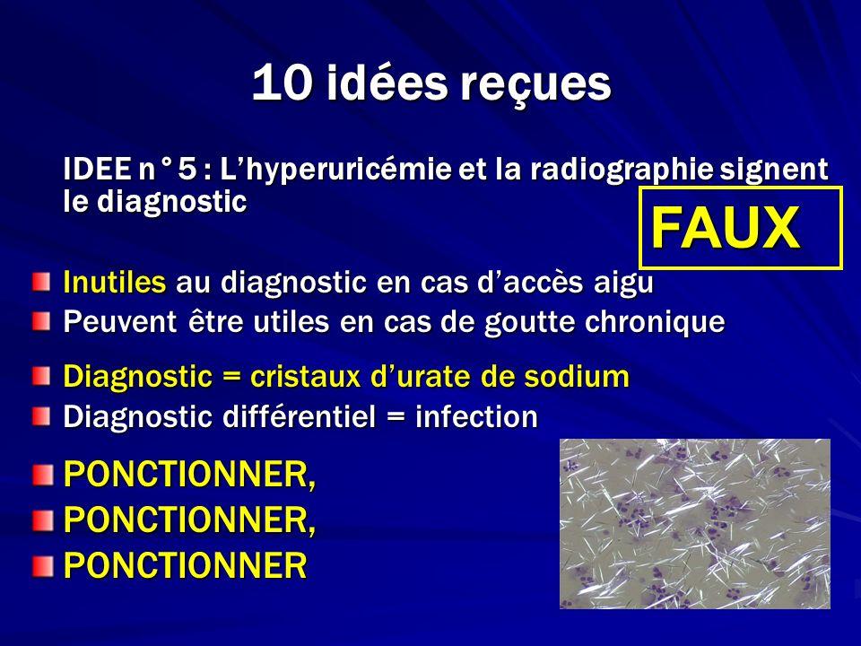 FAUX 10 idées reçues PONCTIONNER, PONCTIONNER