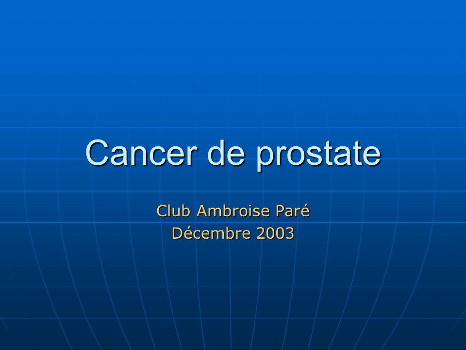 Club Ambroise Paré Décembre 2003