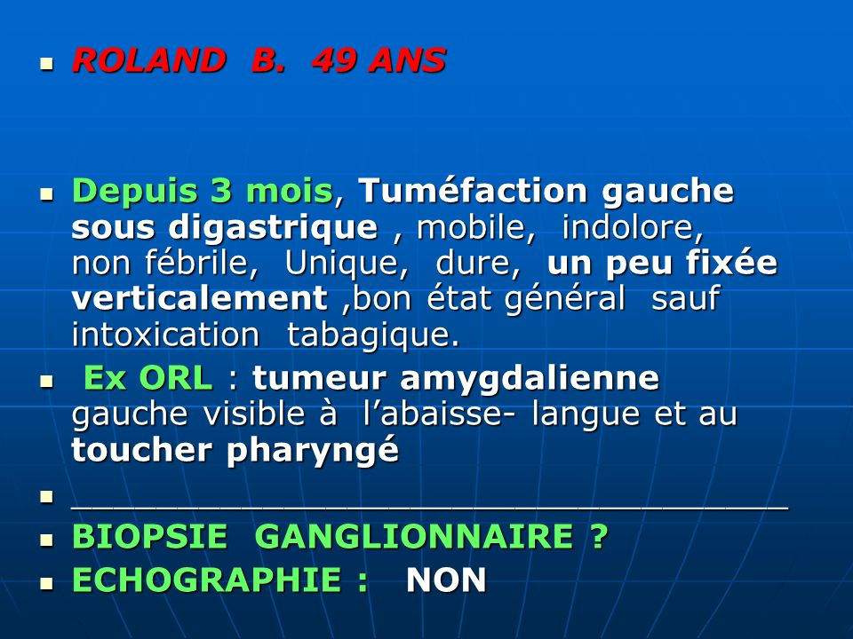 ROLAND B. 49 ANS