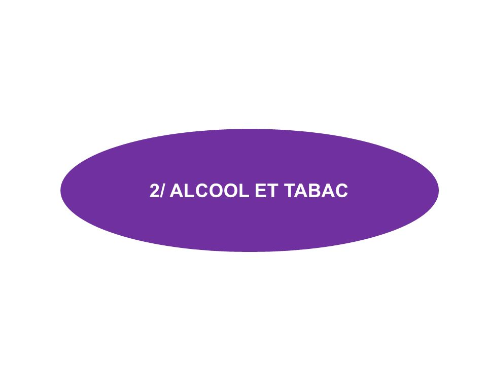 2/ ALCOOL ET TABAC