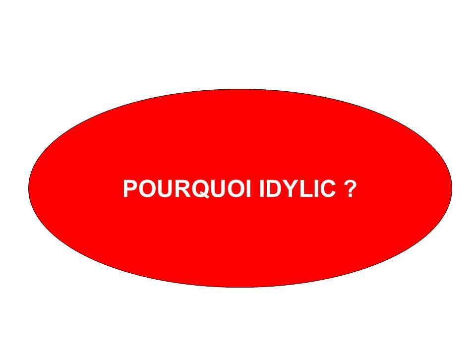 POURQUOI IDYLIC