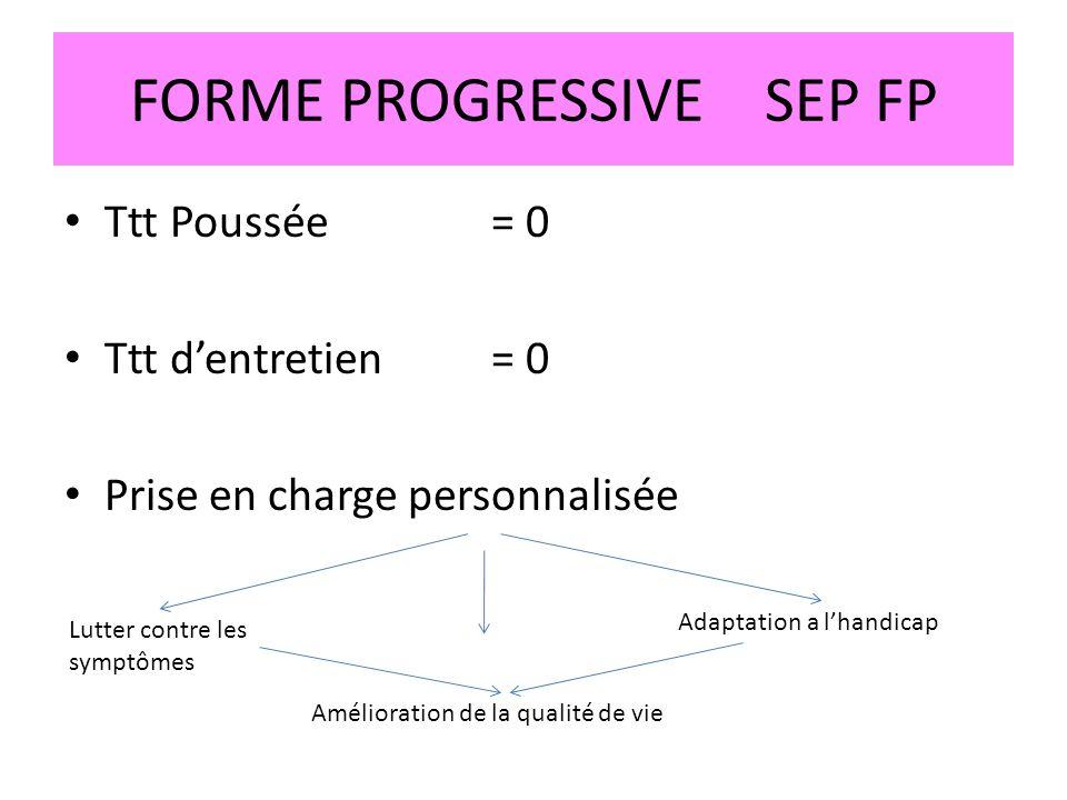 FORME PROGRESSIVE SEP FP