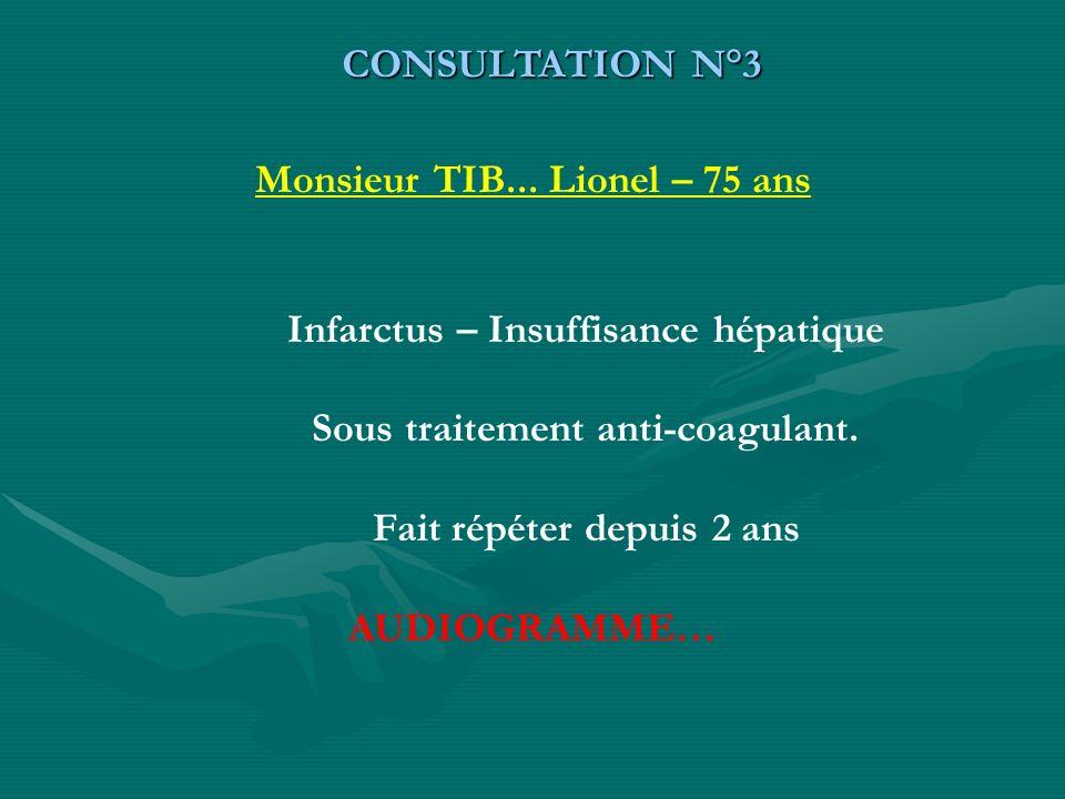 Monsieur TIB... Lionel – 75 ans
