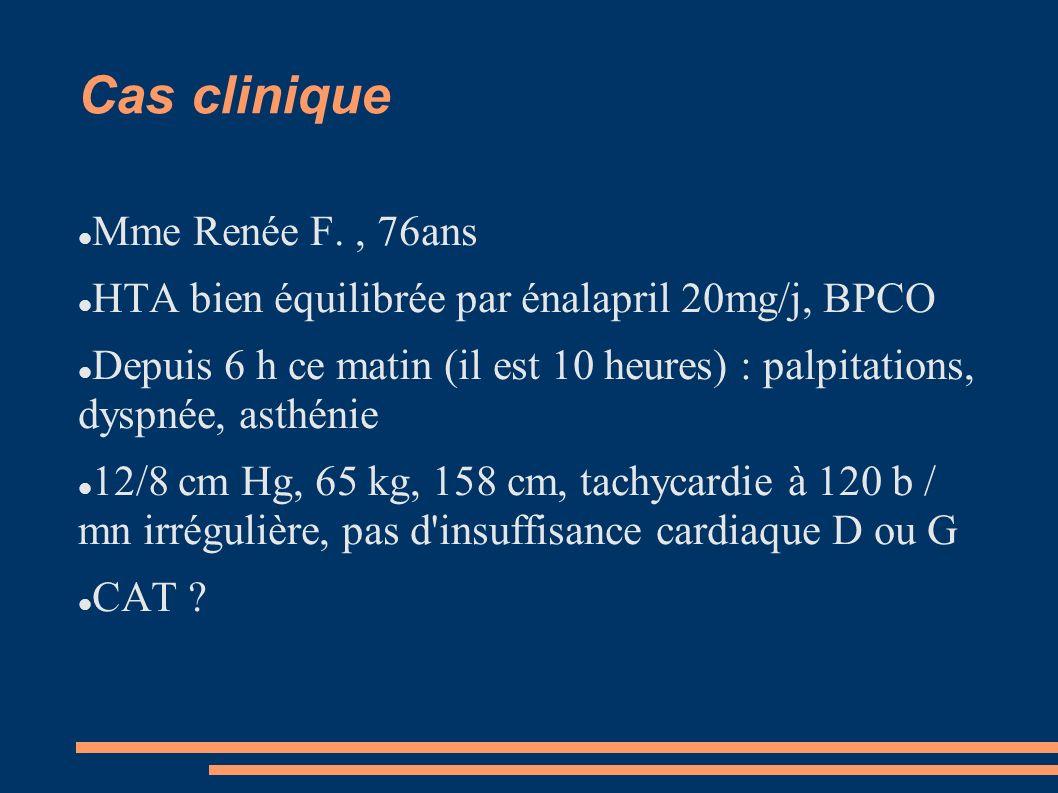 Cas clinique Mme Renée F. , 76ans