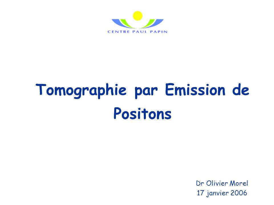 Tomographie par Emission de Positons