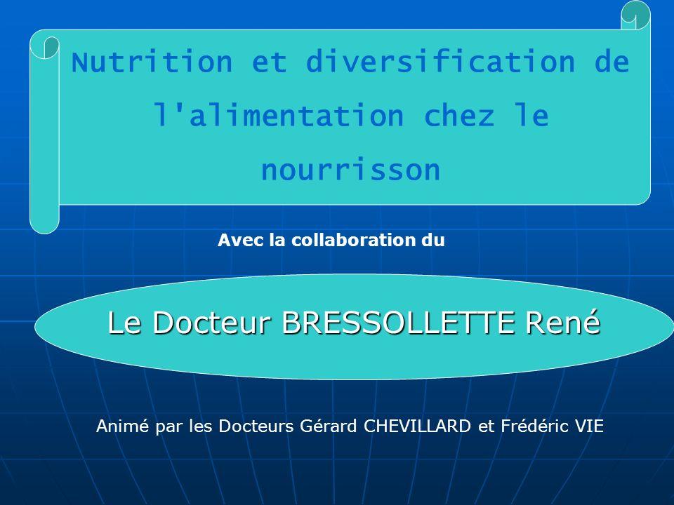 Nutrition et diversification de