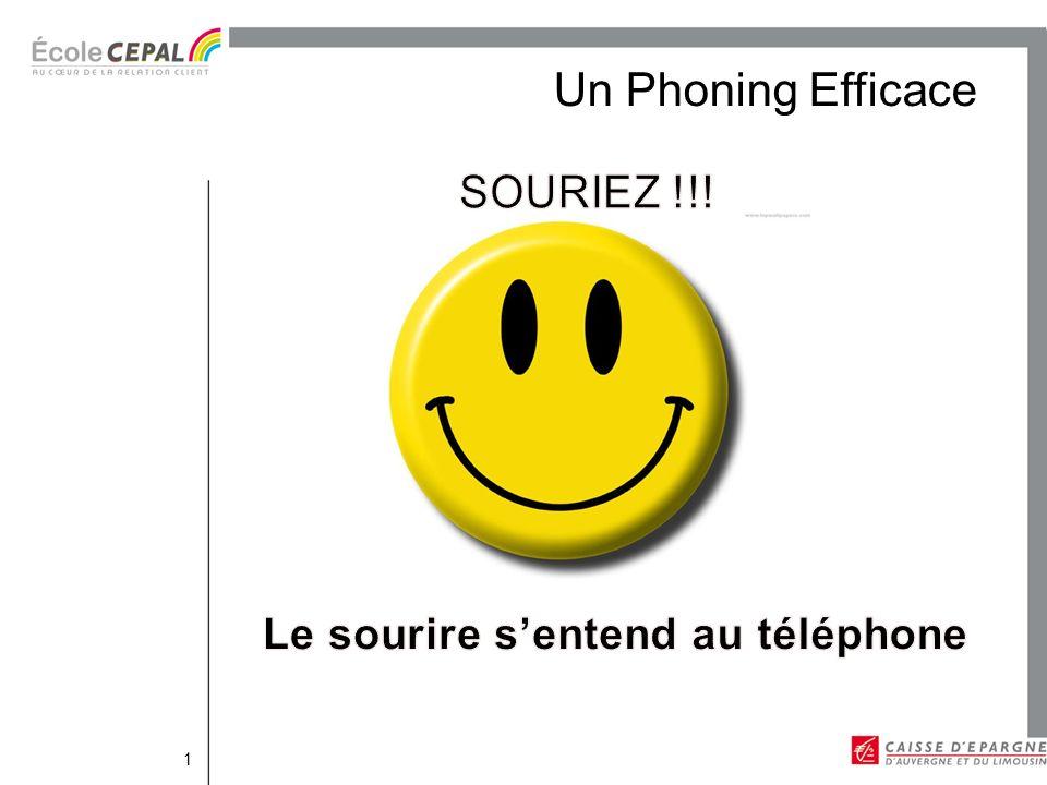 Le sourire s'entend au téléphone