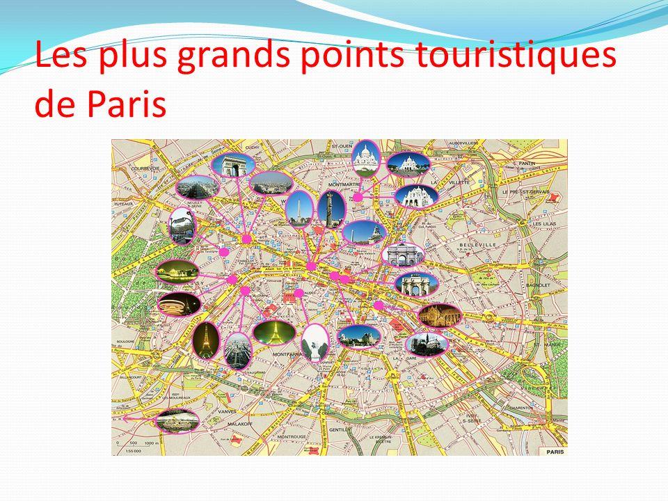 Les plus grands points touristiques de Paris