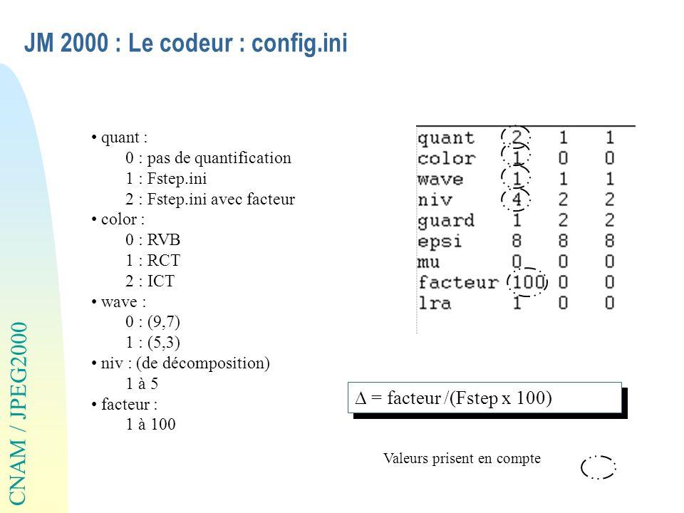 JM 2000 : Le codeur : config.ini
