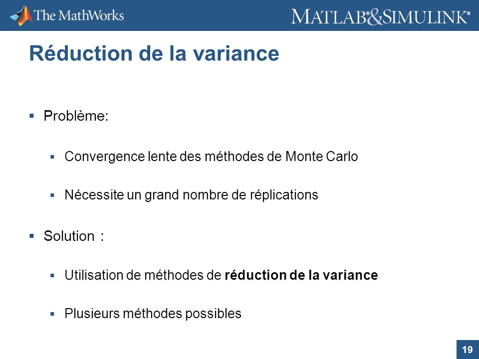 Réduction de la variance