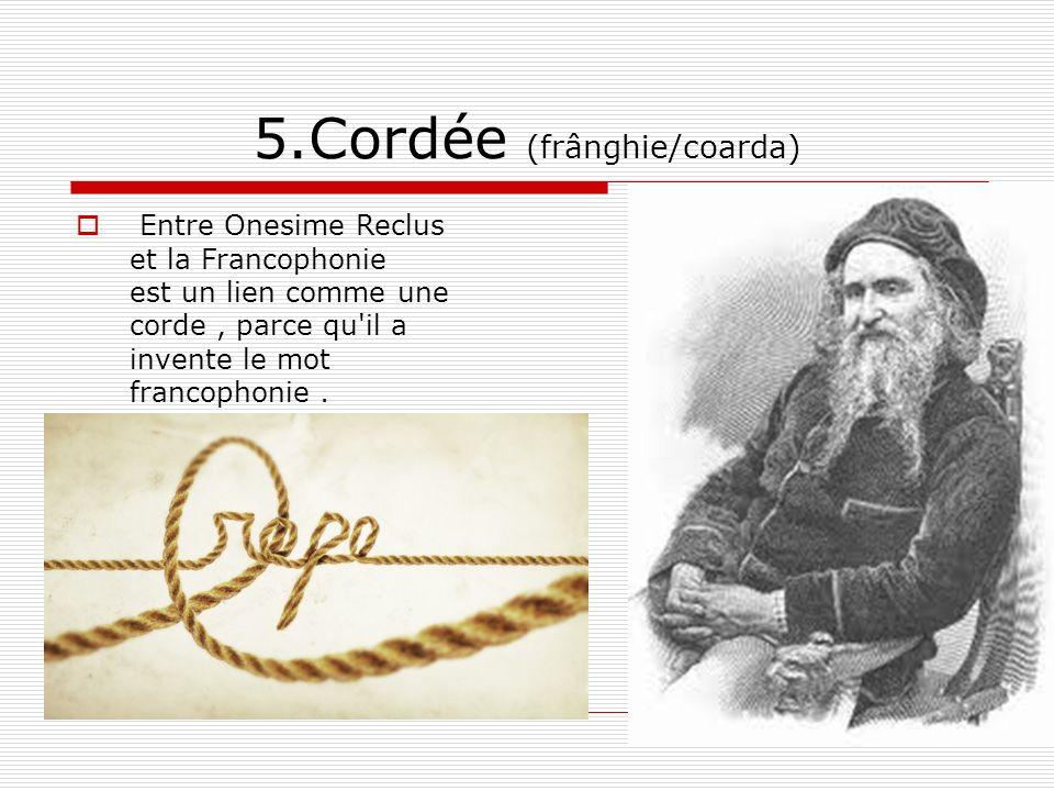 5.Cordée (frânghie/coarda)