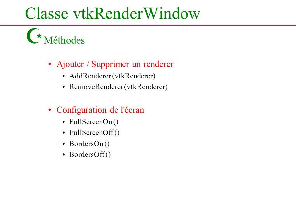 Classe vtkRenderWindow