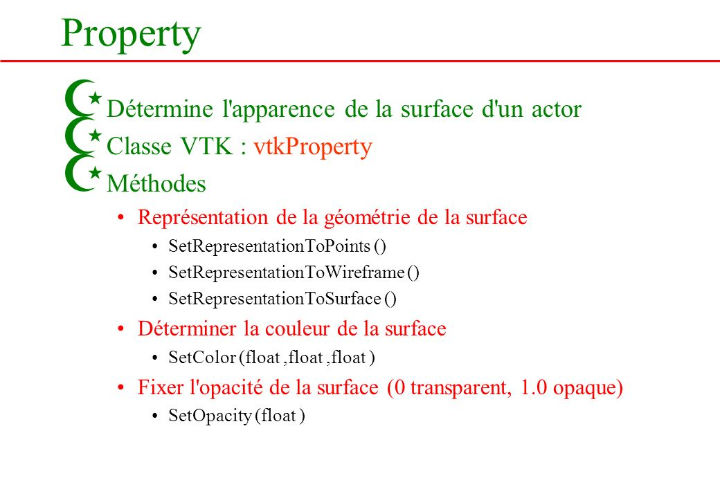 Property Détermine l apparence de la surface d un actor