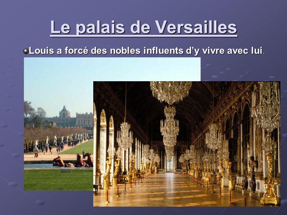 Le palais de Versailles