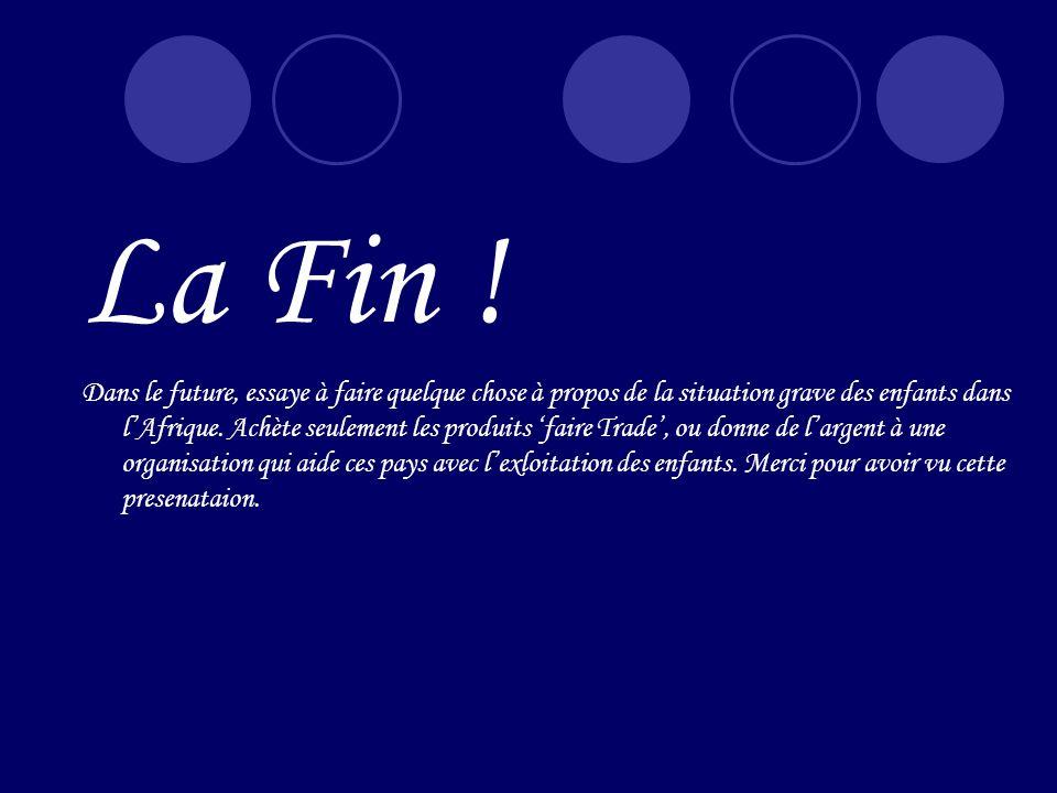 La Fin !