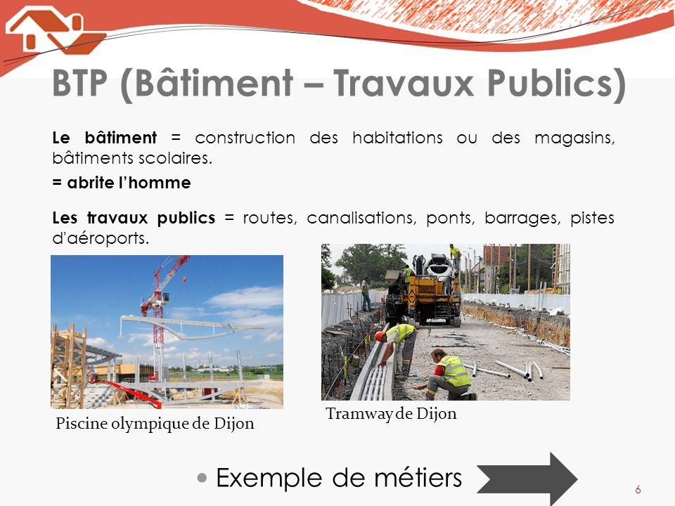 BTP (Bâtiment – Travaux Publics)