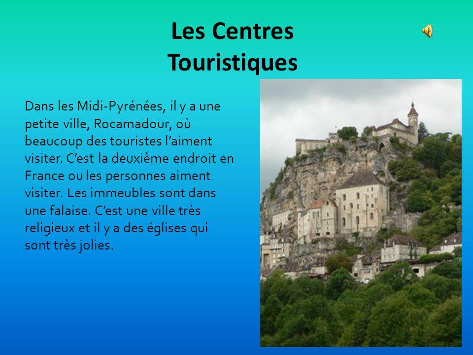 Les Centres Touristiques