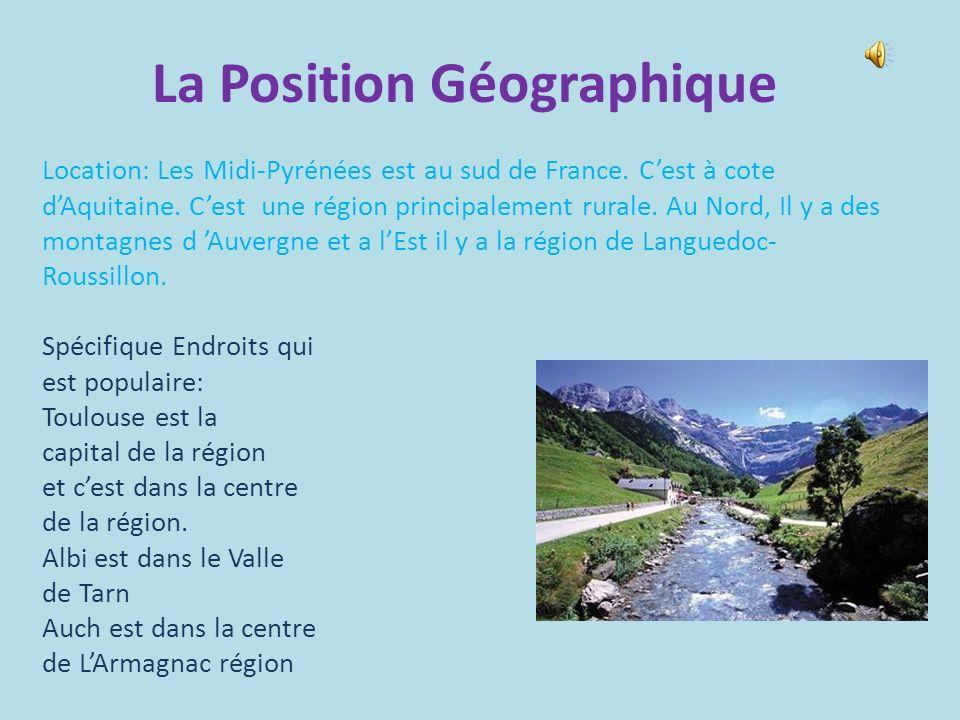 La Position Géographique