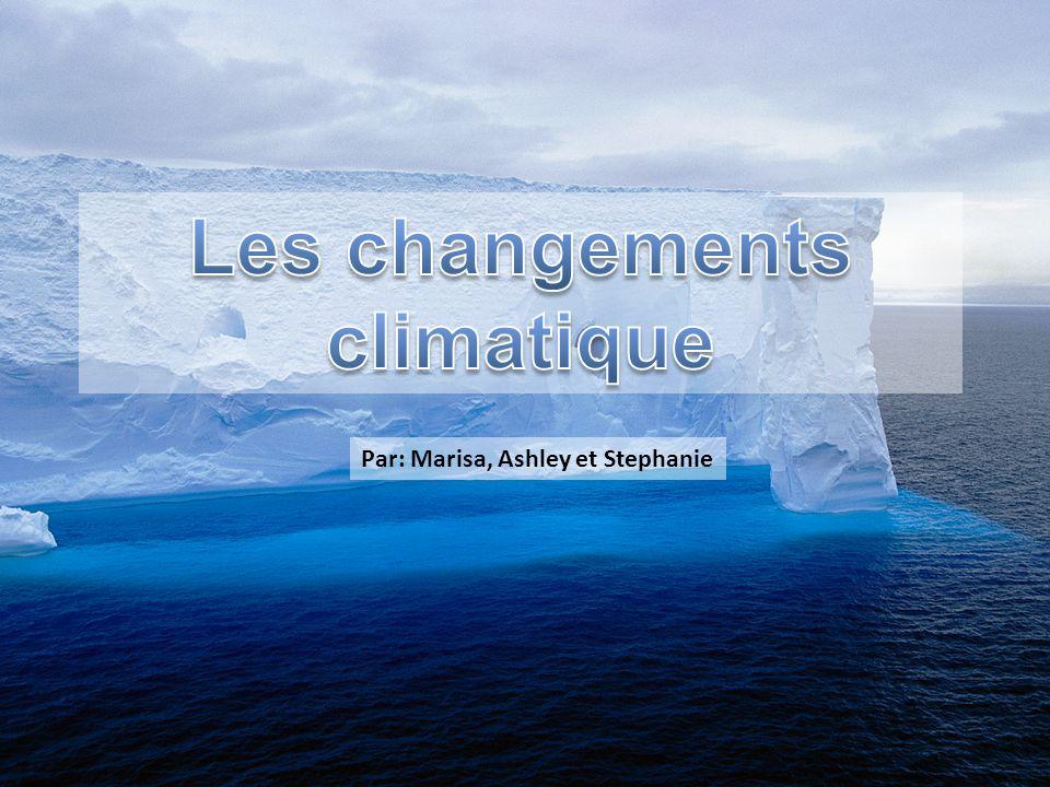 Les changements climatique