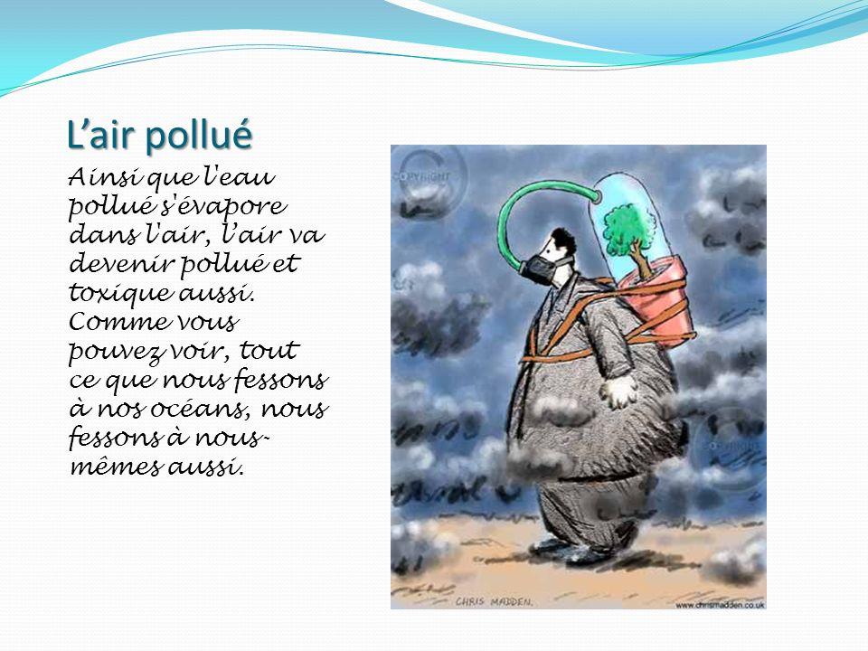 L'air pollué