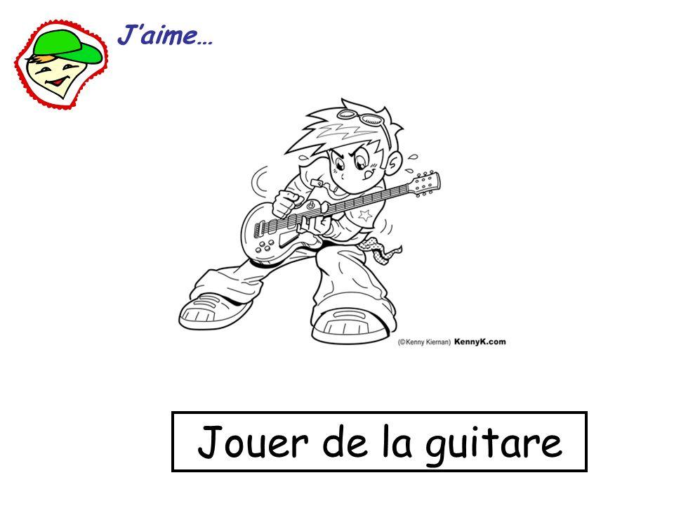 J'aime… Jouer de la guitare