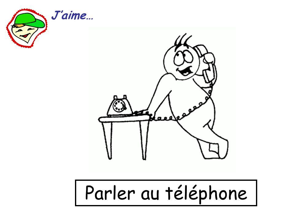 J'aime… Parler au téléphone