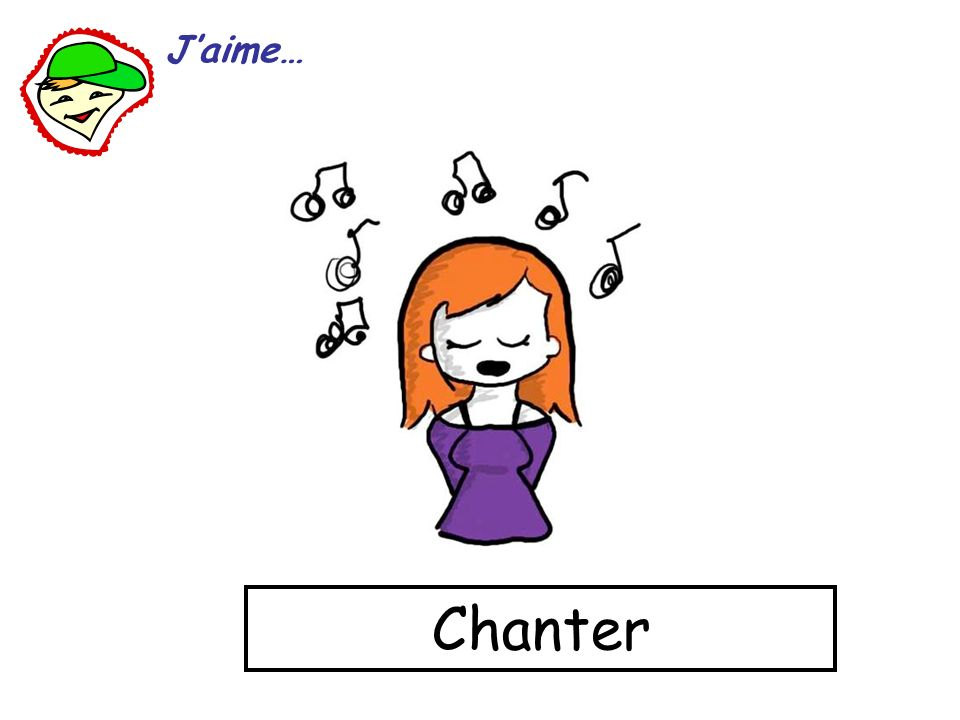J'aime… Chanter