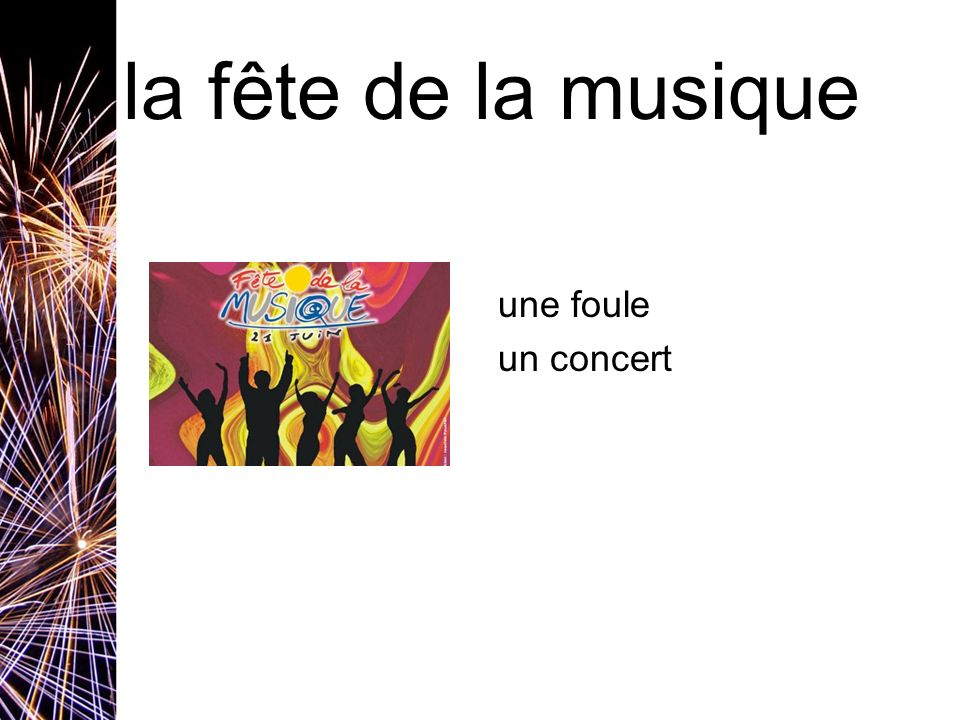 la fête de la musique une foule un concert