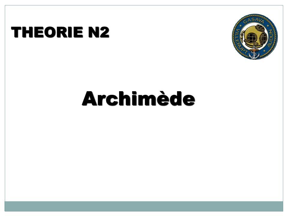 THEORIE N2 Archimède