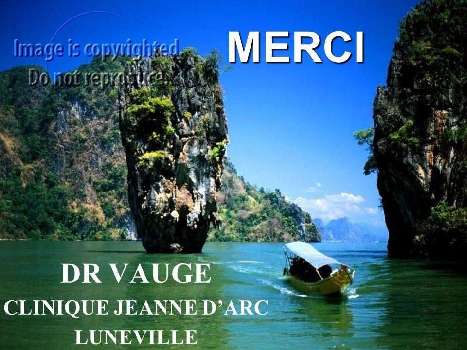 DR VAUGE CLINIQUE JEANNE D'ARC LUNEVILLE