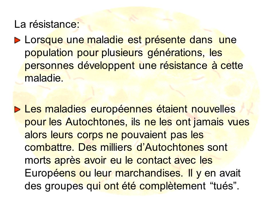 La résistance: