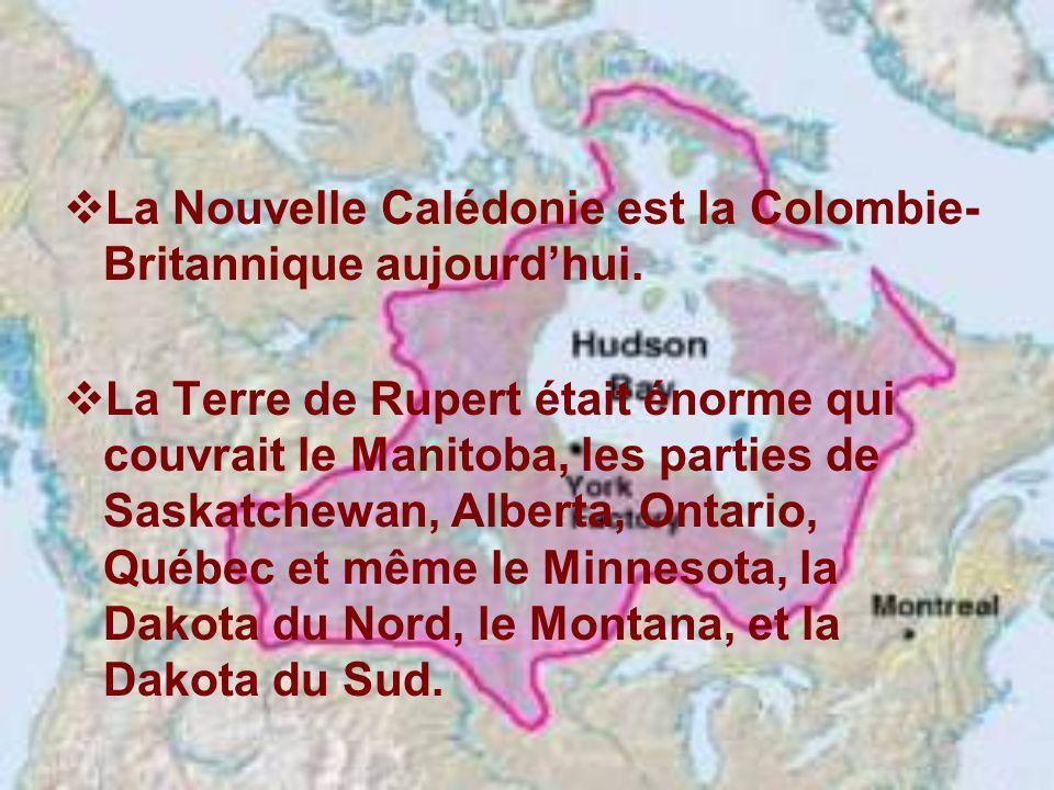 La Nouvelle Calédonie est la Colombie-Britannique aujourd'hui.