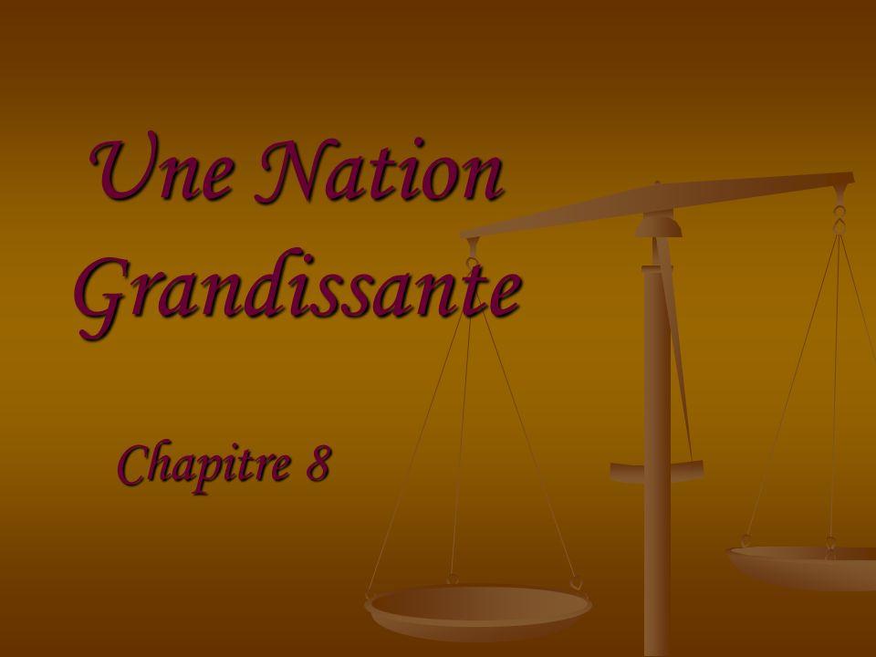 Une Nation Grandissante