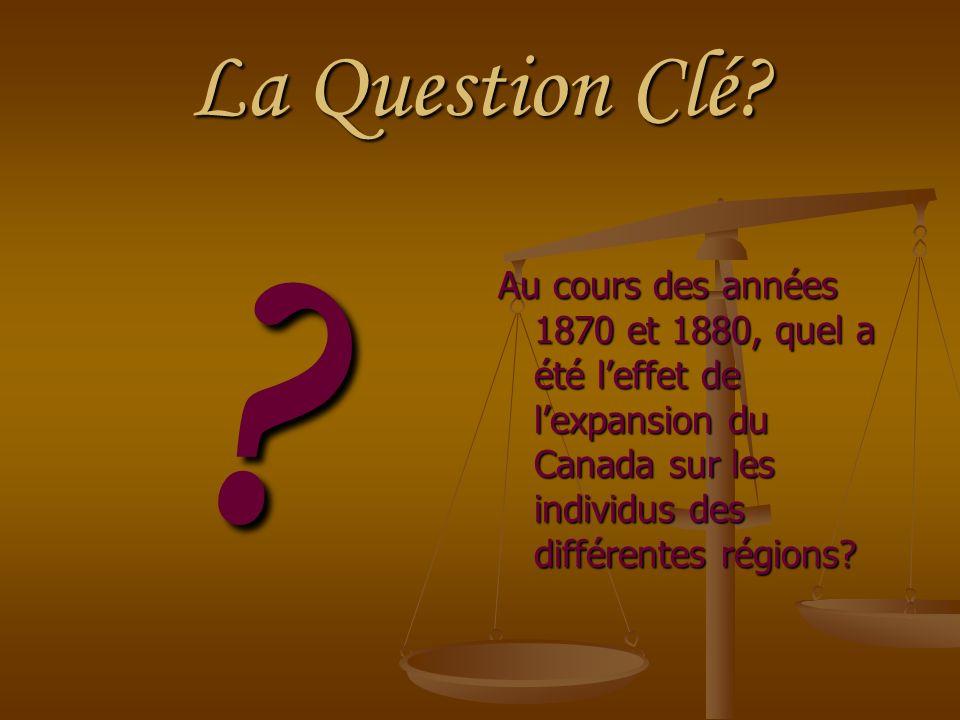 La Question Clé.