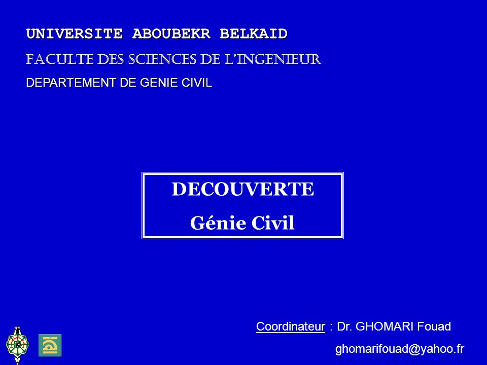 DECOUVERTE Génie Civil