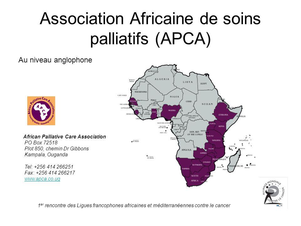 Association Africaine de soins palliatifs (APCA)