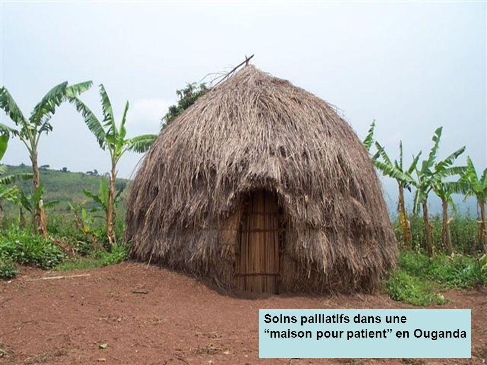 Soins palliatifs dans une maison pour patient en Ouganda