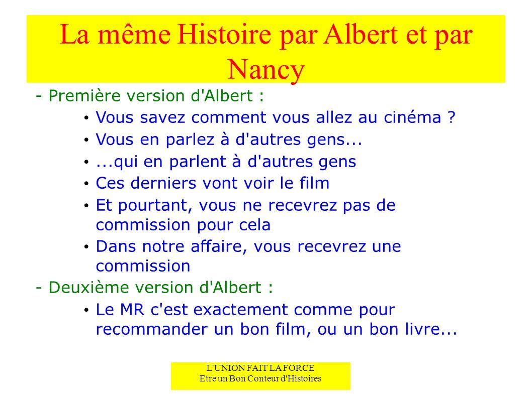 La même Histoire par Albert et par Nancy