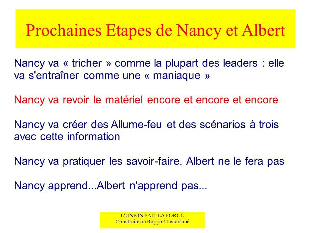 Prochaines Etapes de Nancy et Albert