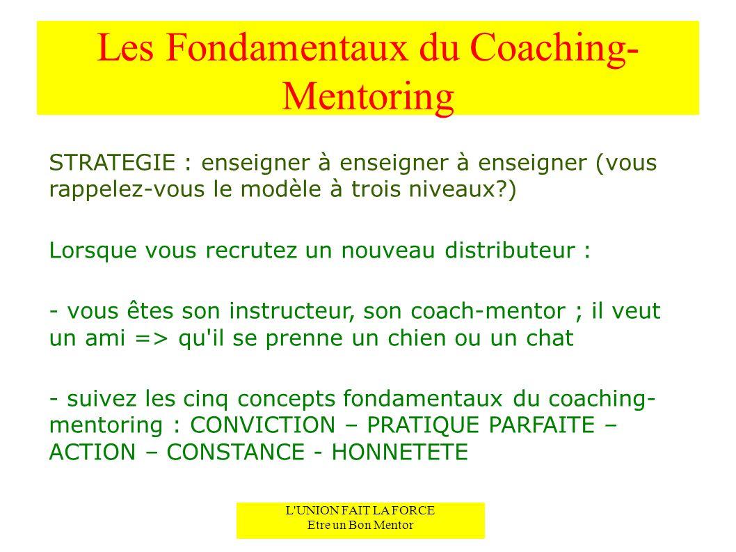 Les Fondamentaux du Coaching-Mentoring