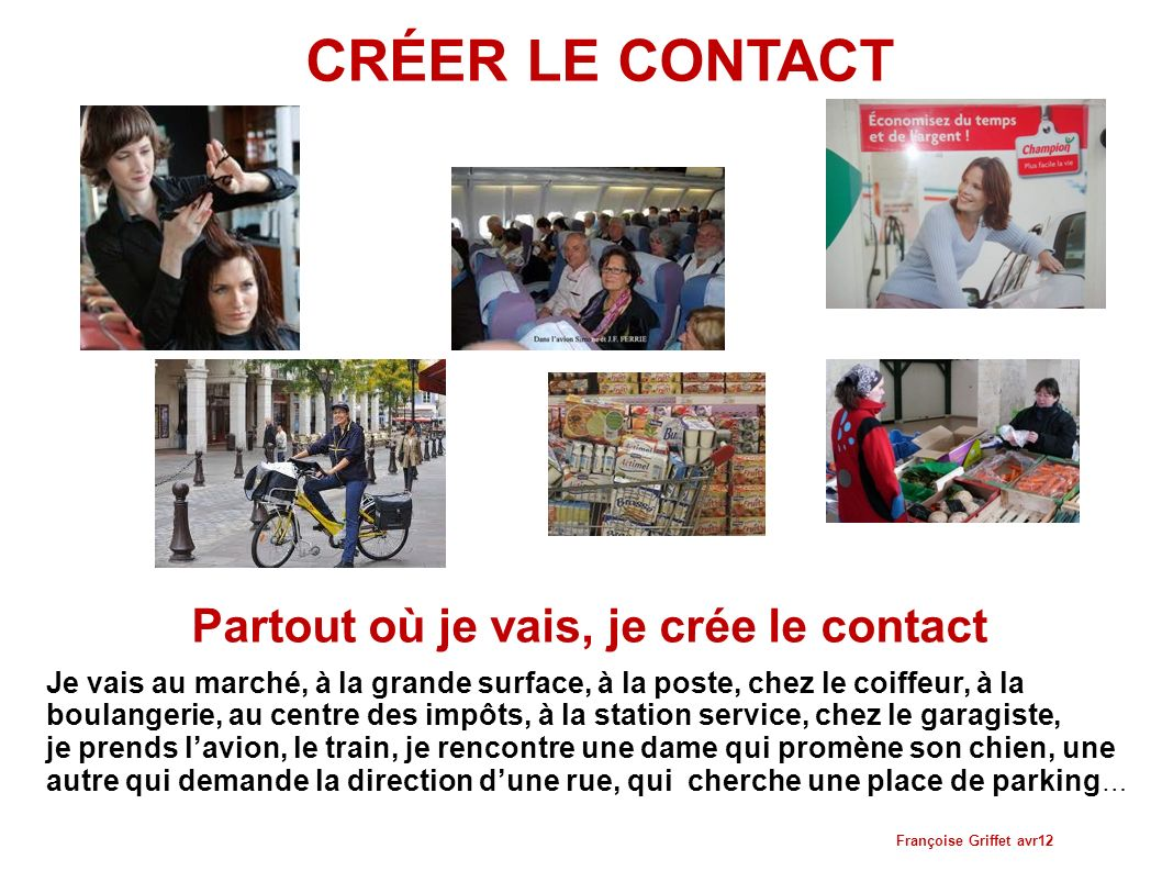 Rencontre je contact