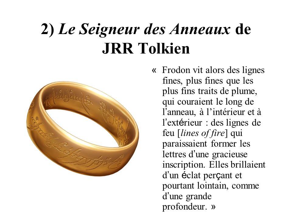 2) Le Seigneur des Anneaux de JRR Tolkien