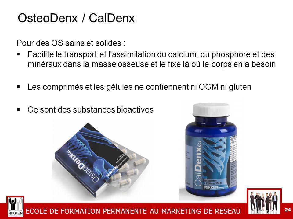 OsteoDenx / CalDenx Pour des OS sains et solides :