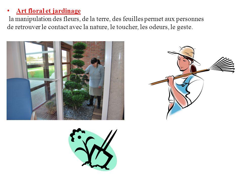 Art floral et jardinage