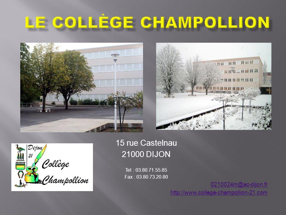 Le Collège Champollion