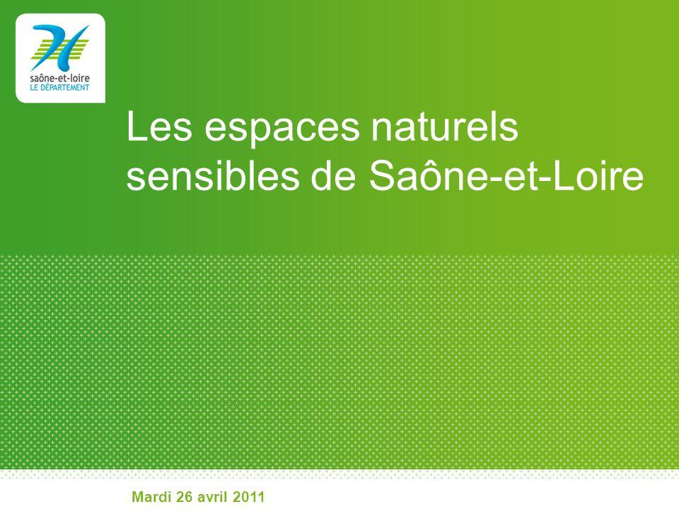 Les espaces naturels sensibles de Saône-et-Loire