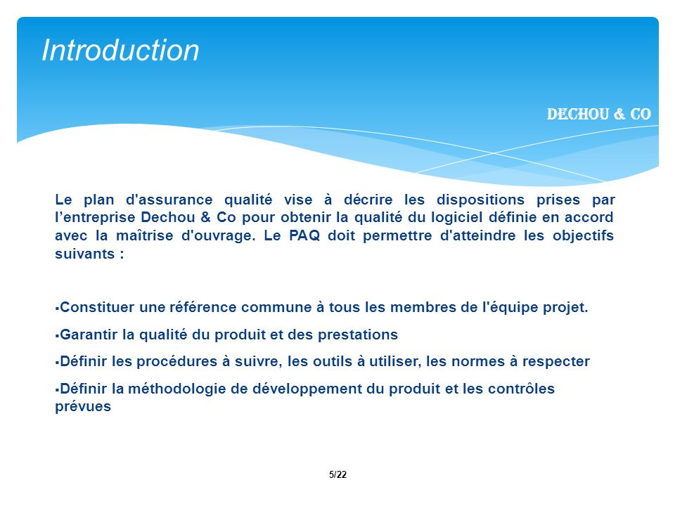 Introduction Dechou & CO