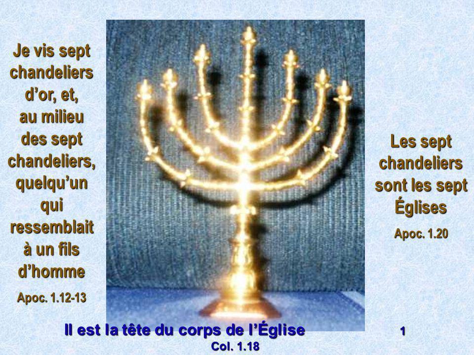 Les sept chandeliers sont les sept Églises