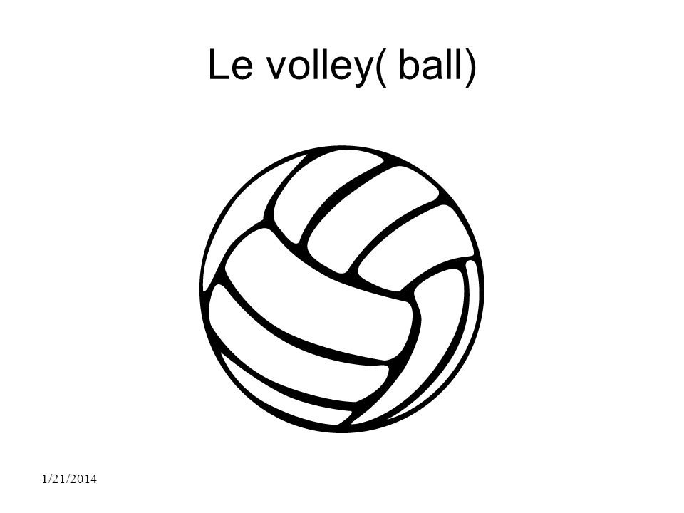 Le volley( ball) 3/26/2017