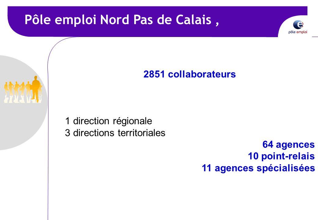 Pôle emploi Nord Pas de Calais ,